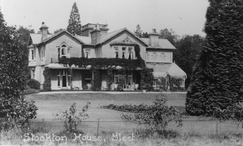 Stockton House in the past